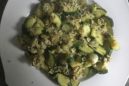 Zucchini-Ei-Pfanne (Bild)