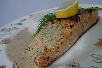 Lachsfilet in Dillcreme 3