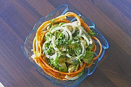 Avocado im Karotten-Nest 1