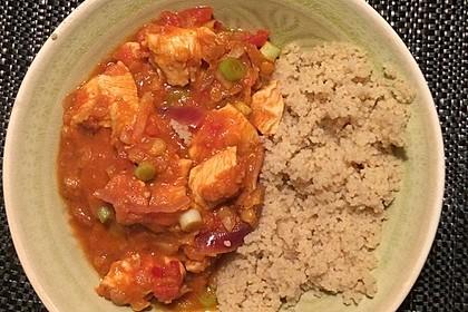 Schweine-Curry mit roten Linsen