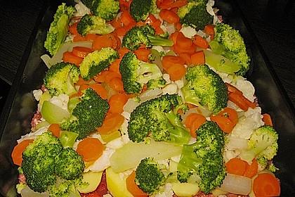 Gemüseauflauf mit Hackfleisch 9