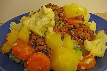 Gemüseauflauf mit Hackfleisch 14