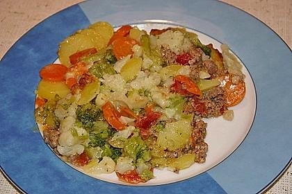 Gemüseauflauf mit Hackfleisch 5