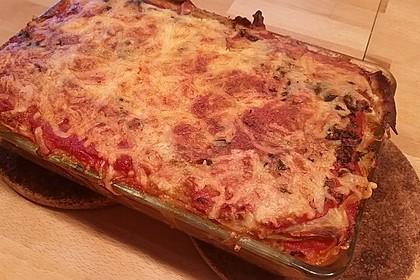 Weißkohl-Lasagne vegetarisch 1