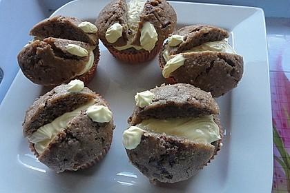Schokoladige Schmetterlings-Cupcakes