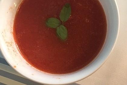 Tomatensuppe Aus Frischen Tomaten Von Goldenanna Chefkoch