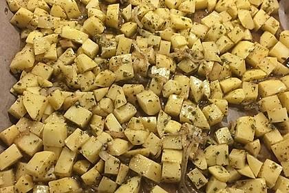 Bratkartoffeln aus dem Ofen (Bild)
