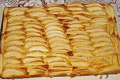 Apfel-Sandkuchen vom kleinen Blech