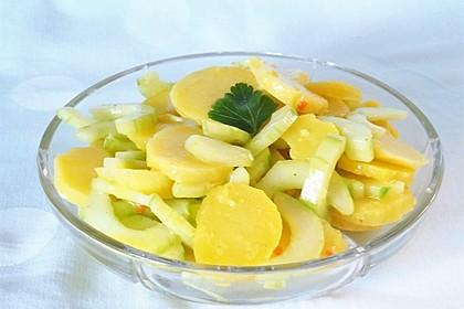 Frischer Kartoffel-Gurken Salat 1