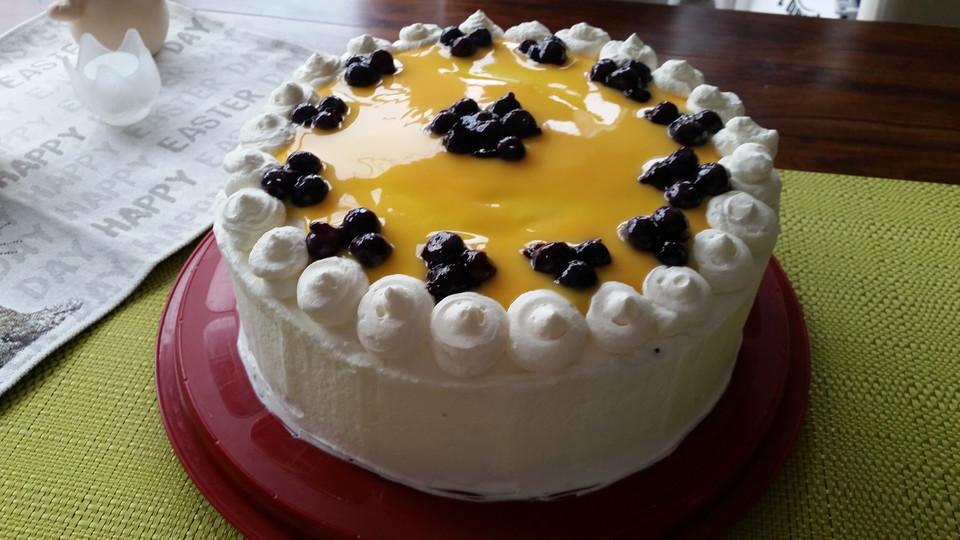 Heidelbeer Eierlikor Torte Von Backmouse Chefkoch De