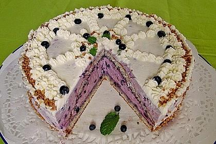 Waldheidelbeer-Torte 1