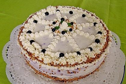 Waldheidelbeer-Torte