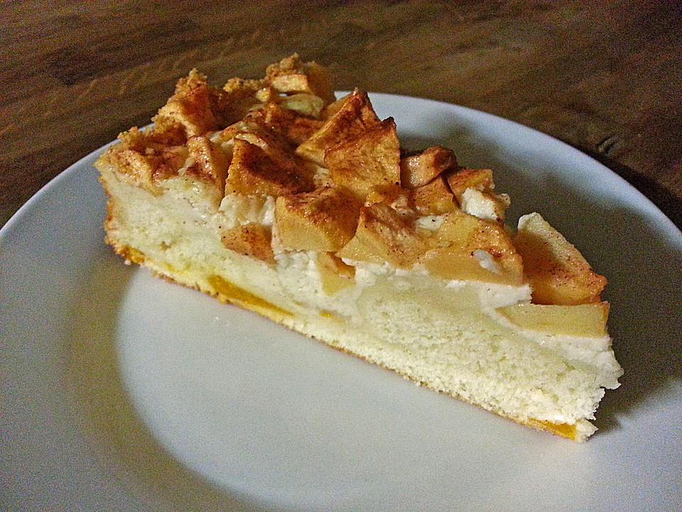 Schneller Apfel Pudding Kuchen Von Yasashii Chefkoch De