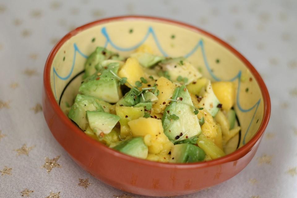 Mango Avocado Salat Von Schaf76 Chefkoch