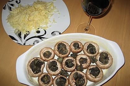 Champignons farcies mit Weinbergschnecken 1