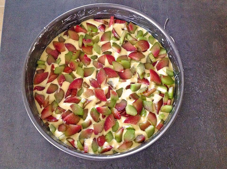 Erdbeer Rhabarber Kuchen Von Lecker 122 Chefkoch De