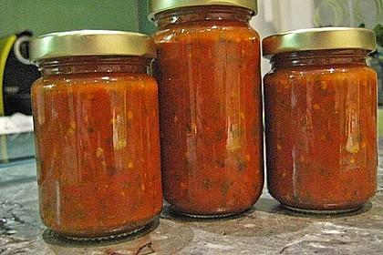 Pasta-Sauce auf Vorrat eingemacht 1