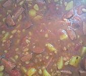Serbische Bohnensuppe (Bild)