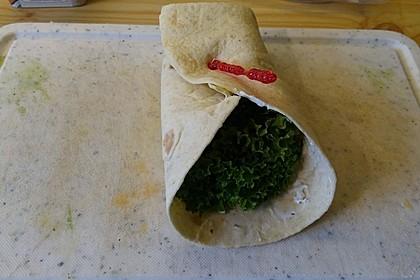 Schinken-Frischkäse-Wrap 10