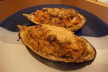 Auberginen/Melanzane gefüllt und gebacken 22