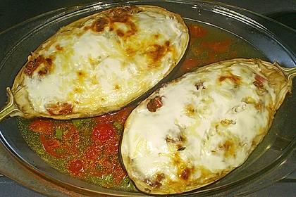 Auberginen/Melanzane gefüllt und gebacken 17