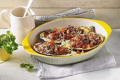 Auberginen/Melanzane gefüllt und gebacken 1