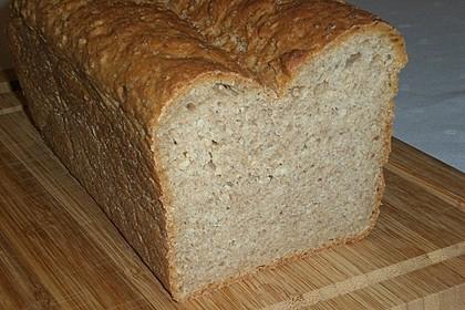 Hirse-Weizen Brot 2