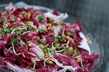 Radicchio-Speck Salat 3