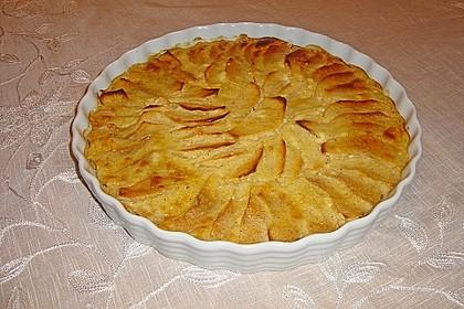 Apfel-Dinkel-Tarte (Bild)