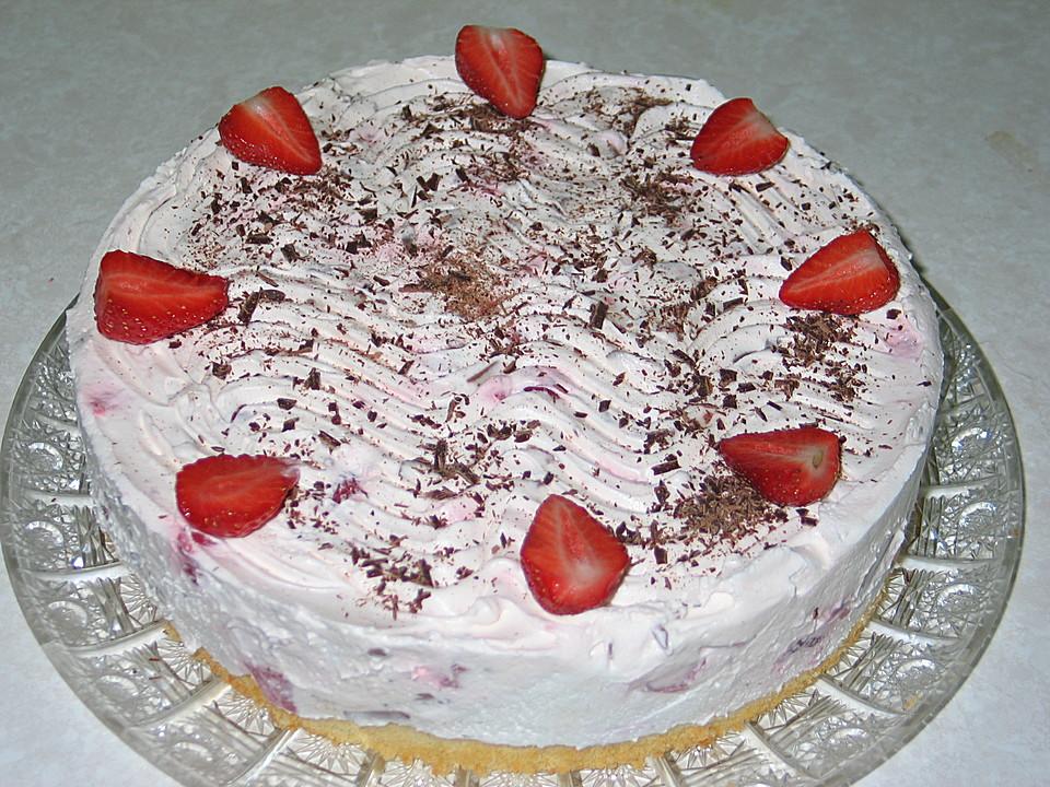 Erdbeer Yogurette Torte Von Manuela26 Chefkoch De