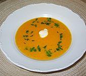 Orangen-Karotten-Suppe (Bild)