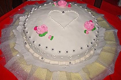 Hochzeitstorte, englischer Weddin Cake 1