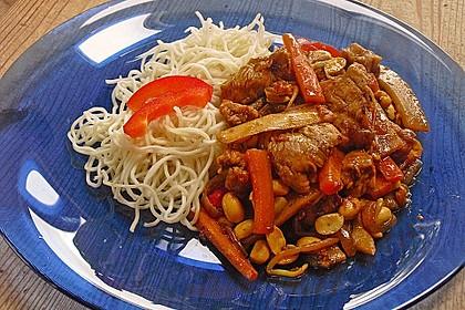 Asiatische gebratene Nudeln 2