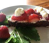 Schoko-Erdbeer-Kuchen (Bild)