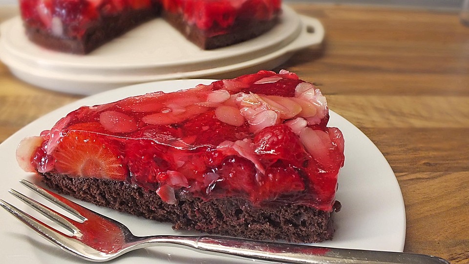 Schoko Erdbeer Kuchen Von Sandra Chefkoch De
