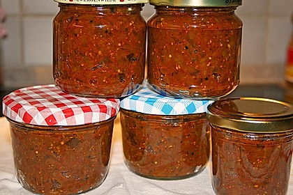 Auberginen Pickles (Brinjal Pickles) 1