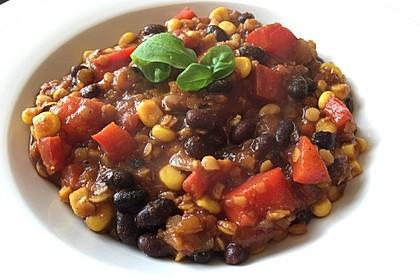 Veganes, basisches Chili 17