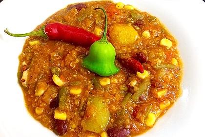 Veganes, basisches Chili 3