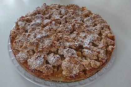 Schneller Apfelkuchen mit Streuseln 3
