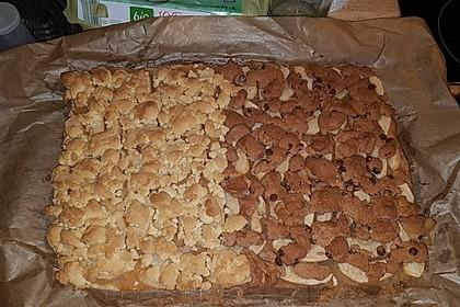 Schneller Apfelkuchen mit Streuseln 5