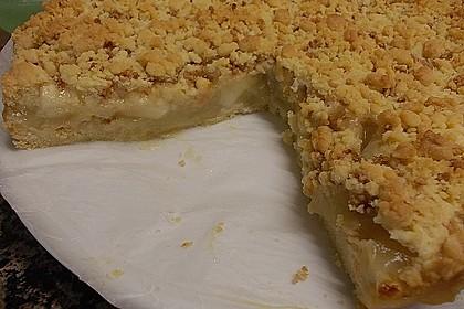 Schneller Apfelkuchen mit Streuseln 2