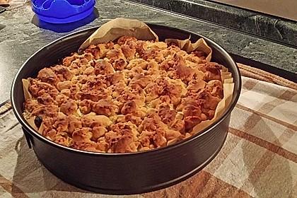 Schneller Apfelkuchen mit Streuseln 1