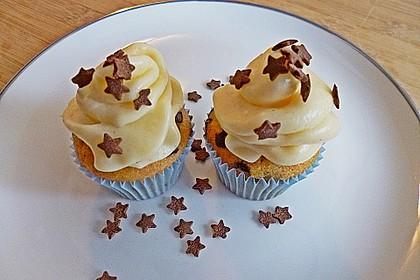 Kaffe-Schoko-Cupcakes mit Rumfrosting 1