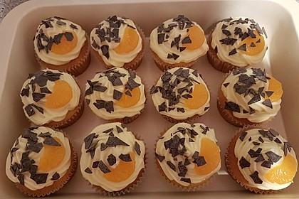 Mandarinen-Cupcakes 3