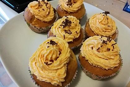 Mandarinen-Cupcakes 17