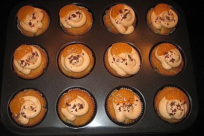 Mandarinen-Cupcakes 19