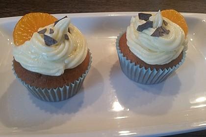 Mandarinen-Cupcakes 10