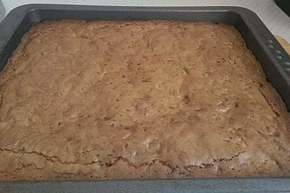 Brownies mit Walnüssen und weißer Schokolade (Bild)