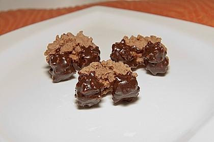 Gefülltes Schokoladenspritzgebäck