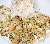 Hähnchenbrustfilet mit Mandel-Kräuterkruste (Bild)
